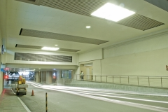 Installation of Ceiling at Parking Tunnel- Shangri-la Plaza